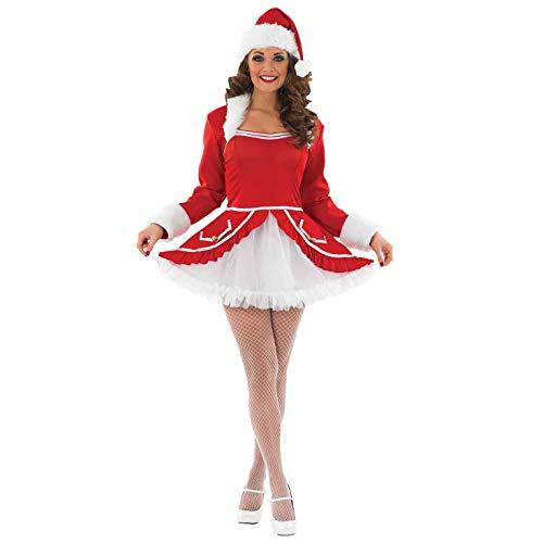 Fun Shack FN3611S Kostüm, Women, Santa Baby, S