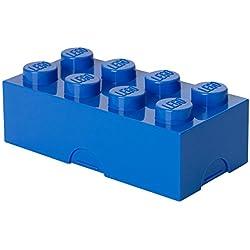 Lego LEGO Lunch Box, Plastica, Blu, Verde, 10x20x7.50 cm