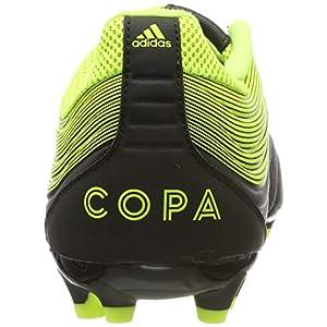 adidas Copa 19.3 Ag, Botas de fútbol para Hombre, Negro (Core Black/Solar Yellow/Core Black), 40 EU