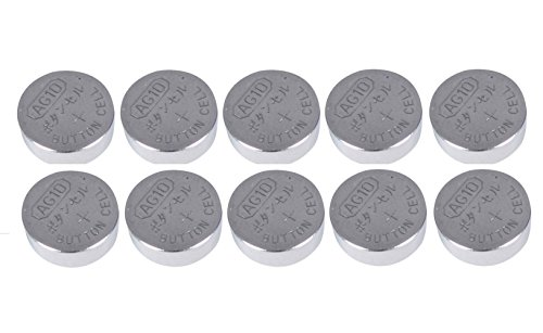 Live-wire-direct Lot de 10 piles bouton pour montre Type AG-10 LR1130S LR1130W 1,55 V