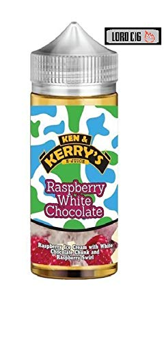 Ken & Kerry's e Liquid vape Juice, 100ml shortfill Capacity, Vape Oil with  Child Lock, E Liquid Fits All E Cigarettes e shisha Starter Kits,