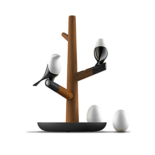 Preisvergleich Produktbild WSXXN Kreative Elster Vogel Licht Intelligente Steuerung Sensor Nachtlicht Exquisite Kompakte LED Lampe Lade Schreibtischlampe
