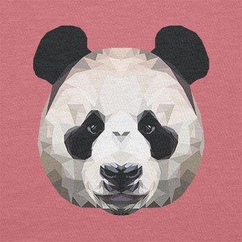 Texlab–Poligono Panda–sacchetto di stoffa Pink
