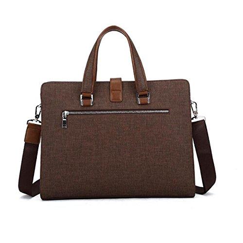 Mann-Geschäfts-Satz-Art- Und Weisegroßer Kapazitäts-Computer-Satz Einfache Handtaschen-Schulter-Schräge Blue