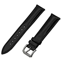 TRUMiRR 18mm Quick Release Watch Band 1st Layer Calf Genuine Leather Strap for Huawei Watch, Asus ZenWatch 2 Women 45mm WI502Q, Withings Activite / Steel / Pop