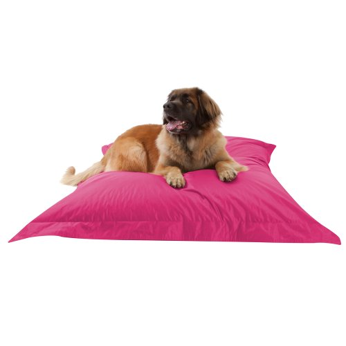 dogbagz-giant-dog-bed-180cm-x-140cm-100-water-resistant-dog-bean-bags-pink-no-dog-too-big