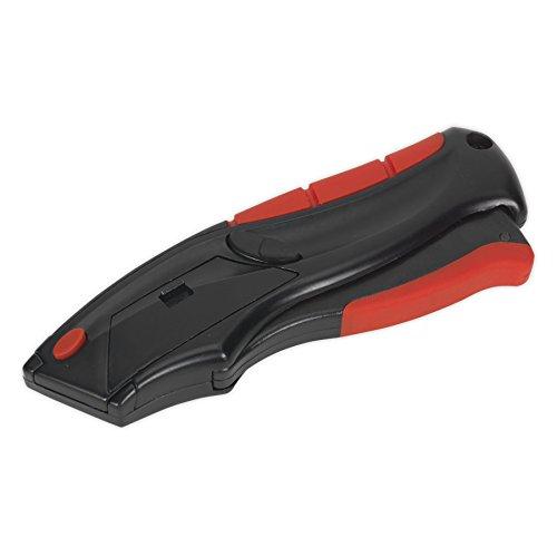 Sealey AK8607 Gebrauchsmesser Auto-Lade Squeeze-Aktion