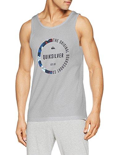 Quiksilver-tank-top-männer (Quiksilver Revenge Herren Tank M Highrise/Heather)