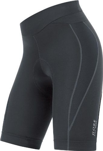 Gore Bike Wear Power 2.0 Kurz Damen Leggings mit gepolsterter Boden, damen, schwarz (Power Tights Lady 2.0)