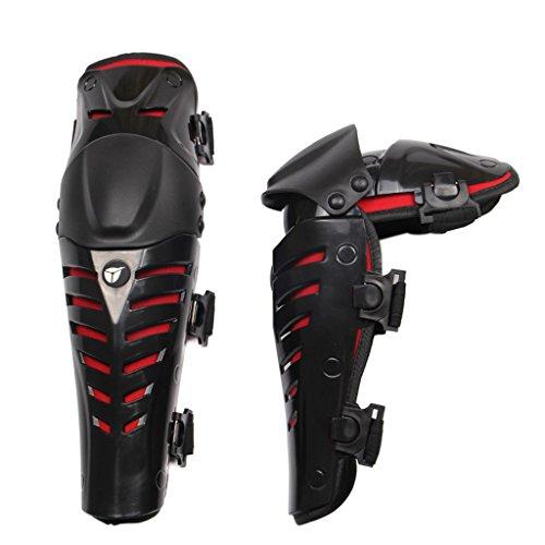 Moto rodilleras protectores caballero al aire libre a campo través pierna romper-resistente...