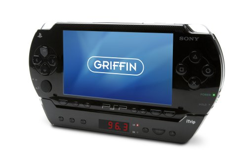 Griffin iTrip PSP FM-Transmitter (Eingebaute Antenne) für Tragbares Play Station schwarz Griffin Technology Itrip Fm-transmitter
