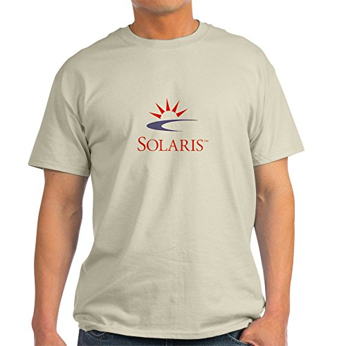 CafePress - Ash Grey Solaris T-shirt - 100% Cotton T-Shirt