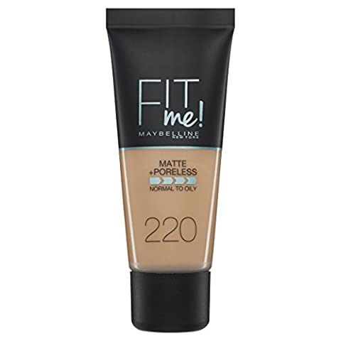 Maybelline Fit Me - Maybelline Found Fit Me Foundation Number 220,