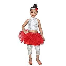 Shri Nikunj Raangoli Western Girl Dress/costume for kids