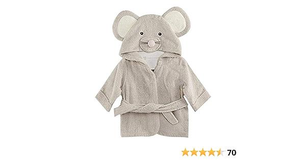 niedlich Geschenkidee f/ür Neugeborene Fleece Style It Up Bademantel f/ür Babys Unisex weich Jungen M/ädchen Pl/üsch