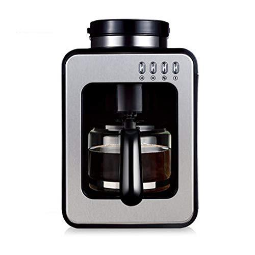 Hebry Kaffeemaschine Klein, Mahlbohne Integrierte Haushalts Kleine Kaffeemaschine Tropf Automatische KaffeemüHle - Automatische Integrierte Kaffeemaschine