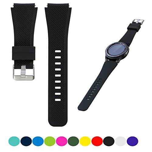 Für Samsung Gear S3 Frontier / S3 Classic Smartwatch Ersatz Uhrenarmband - iFeeker Zubehör Soft Silikon Armband Handgelenk Armbanduhr Band für Samsung Gear S3 Frontier / Classic Smartwatch