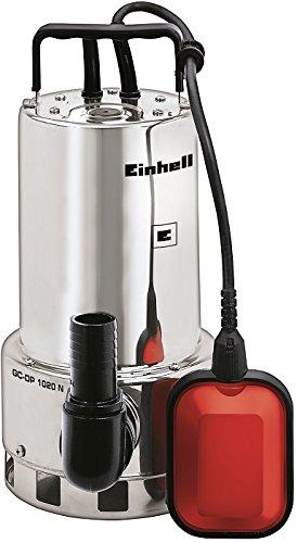 Preisvergleich Produktbild Einhell Schmutzwasserpumpe GC-DP 1020 N (1000 W, max. 18000 l/h, max. Förderhöhe 9 m, Fremdkörper bis 20 mm, Edelstahl)