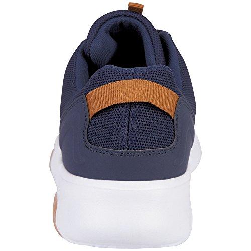 Kappa Result, Baskets Mixte Adulte Blau (6710 Navy/White)