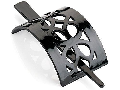 Plastique Noir bâton Pin Barrette