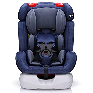 MROSW Convertible Car Seat - 2 Layer Impact Protection - Baby Child Car Safety Booster Seat Group 1/2/3 9-36 Kg (12 Years), Reclining Seat,Blue   11