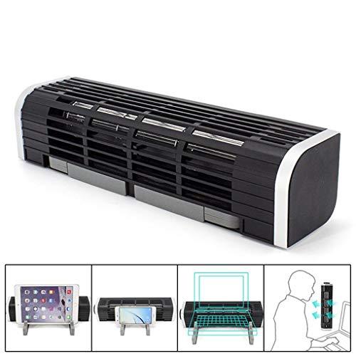 Yongse 2-In-One USB Leafless Turbo Radiator Laptop Tablet Kühler Lüfter Bürolüfter