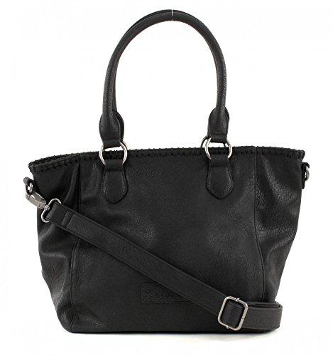 Fritzi aus Preußen Inke Kuba Shopper Tasche 42 cm Black2