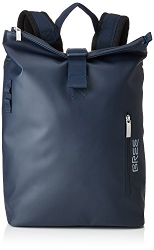 BREE Collection Unisex-Erwachsene Punch 712, Backpack S Rucksack, Blau (Blue), 36x14x30 cm