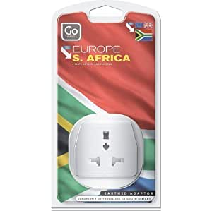 Design Go UK to South Africa Travel Adapter -PACK OF 3