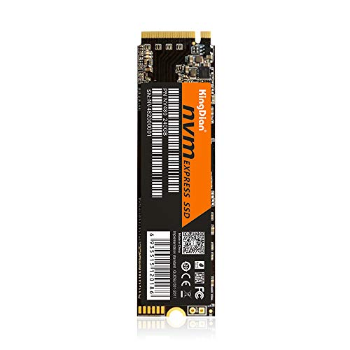 Docooler KingDian Disque SSD Interne pour SSD NVME Interface NV480 240 Go Interne pour Ordinateur de Bureau