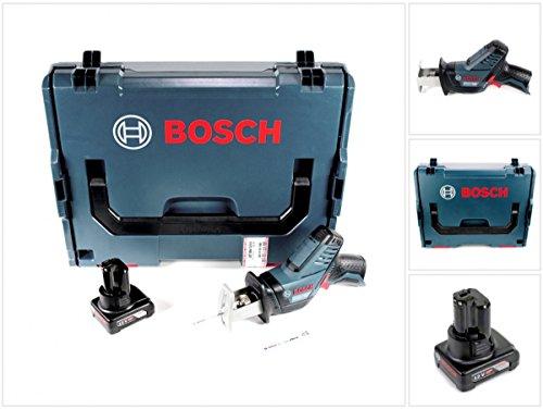 Preisvergleich Produktbild Bosch GSA 12V-14 Li-Ion Professional Akku Säbelsäge in L-Boxx + 1 x GBA 12 V 4,0 Ah Akku