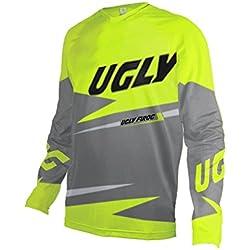 Uglyfrog 2017 Manga Larga Downhill Jersey De Descenso Bicicleta De Primavera&otoño MontañalMaillots Deportes y Aire Libre