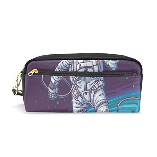 Federmäppchen Hello Astronaut Student Stationery Pen Federmäppchen Holder Bag for School Office Storage Organizer
