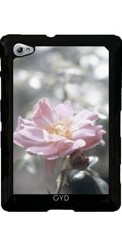 Custodia Samsung Galaxy Tab P6800 - Rosa Rosa A Retroilluminazione Argento by UtArt