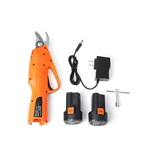 XMYL Elektrische Astschere, Elektrische Schere Pruning-Maschine Für Äste Beschneiden Floral Obstbaum, Garten & Gartengeräte, Mit 2Pcs 12V 2Ah Lithiumbatterie