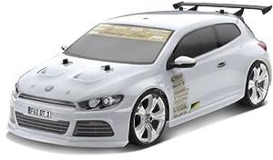 Carson 500800056-1: 10carrocería Volkswagen Scirocco con Adornos, Transparente