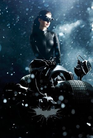 The Dark Knight Rises - Catwoman - U.S Textless Movie Wall Poster Print - 43cm x 61cm / 17 Inches x 24 Inches A2 Batman (Knight Catwoman, Dark Auf The Rises Die)