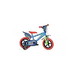 """41%2BHUlddn2L. SS300 Dino- Bicicletta per Bambini Pjmasks 12"""" Nylon PJ Masks, 412UL-PJ"""