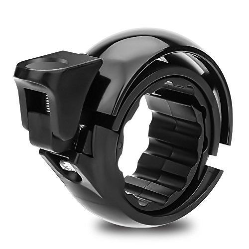 Speedsporting Fahrradklingel Laut Fahrrad Ring mit klaren Sound Fahrradklingeln Q Design Aluminium Fahrradglocke Radfahren Fahrrad Fahrradkling für Alle Fahrrad für Lenker-Ø 22,2-31mm