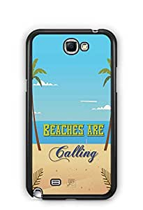 YuBingo Beaches are Calling Designer Mobile Case Back Cover for Samsung Galaxy Note 2