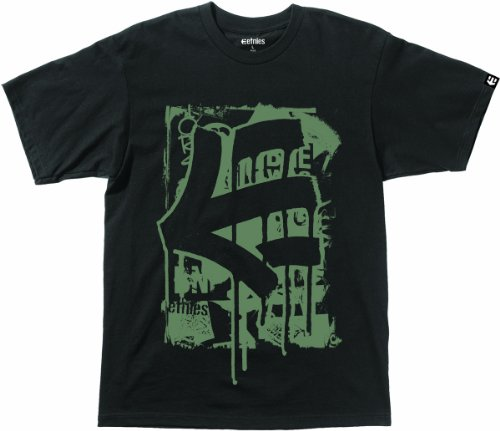 Etnies Herren T-Shirt LAST NIGHT Black