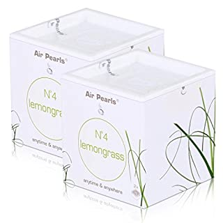 Air Pearls by ipuro N°4 lemongrass Duftkapseln 2x11,5g - Raumduft (2er Pack)