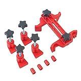 TOOGOO Universal Dual Cam Clamp arbol de levas Timon engranaje Juego de herramientas de bloqueo de engranajes 5 Unids/set