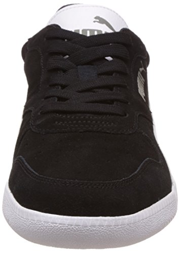 Puma Icra Trainer SD, Sneakers basses mixte adulte Noir - Schwarz (black-white 16)
