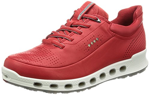 Ecco Cool 2.0, Sneakers Basses Femme Rouge (1046Tomato)