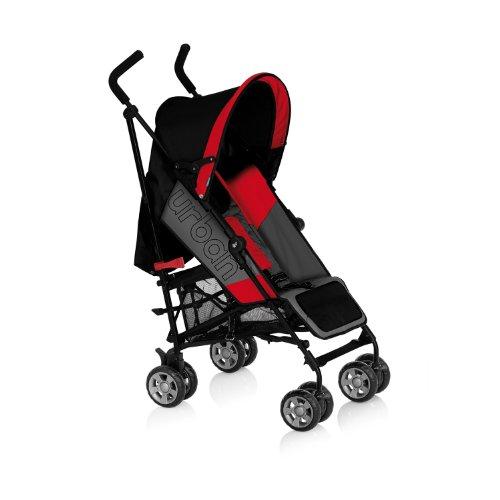 MS Urban Stroller Black/red
