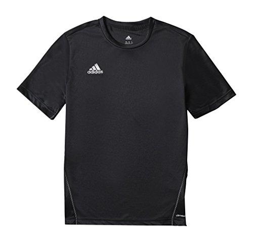 adidas Kinder Trikot/Teamtrikot Coref training js y, schwarz/Weiß, 116, S22398