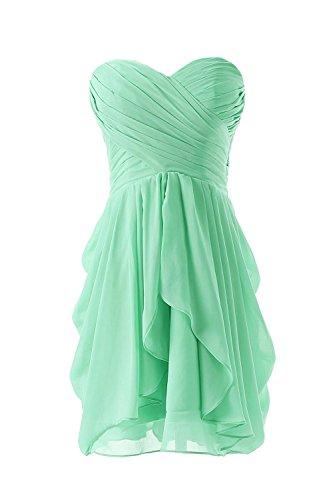Frauen Sind Auch Brautjungfer Kleid Hochzeitsfeier Kleid Green