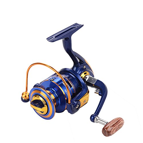 ZREAL Tragbare 12 + 1BB Kugellager Metall Spinning Boat Angelrolle Rad FH1000-FH7000 Serie