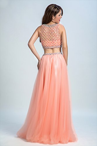 Bridal_Mall - Robe de mariage - Trapèze - Femme light-coral